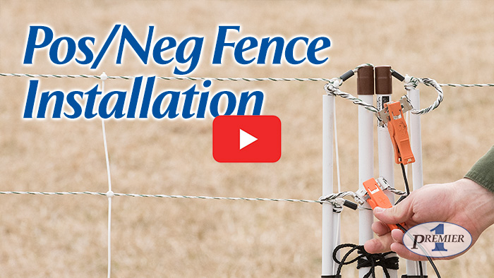 How to install a Positive/Negative electric fence