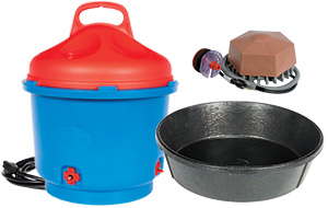Waterers - De-Icers - Heated Buckets