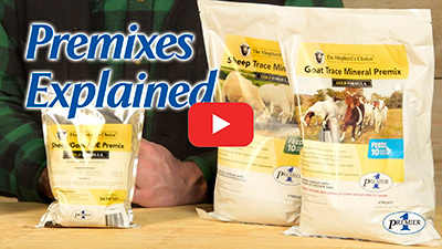 The Shepherd's Choice GOLD Formula Trace Mineral Premixes video