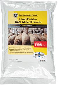Lamb Finisher Trace Mineral Premix