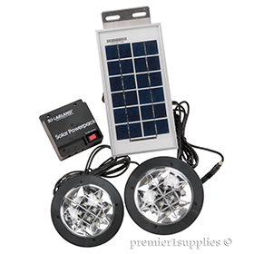 Solar shed lights