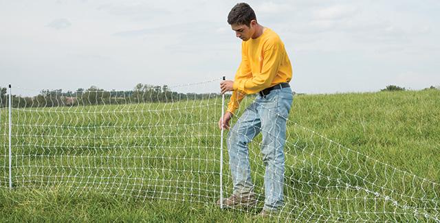 Portable electric fences