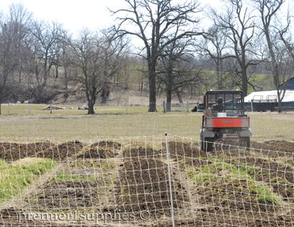 Preparing Premier's garden for spring