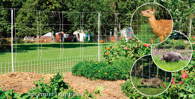 Electric Net Fence for Gardens