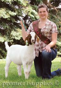 IMGA Goat Queen Brenda McArtor