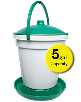 Quick Clean Bucket Waterer