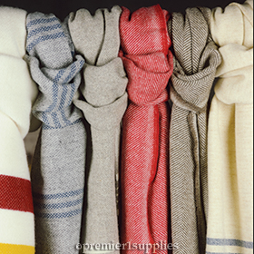 Fairbault  Wool Scarves