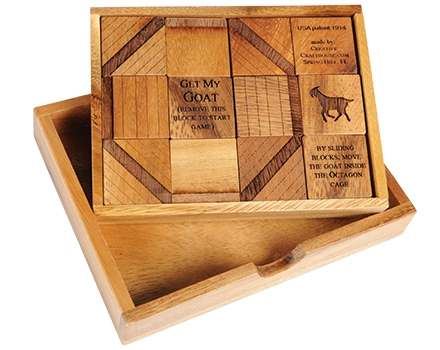 Get My Goat Wooden Puzzle
