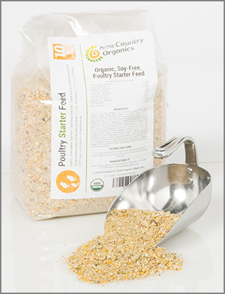 5-lb bag Organic Starter Feed for Poultry