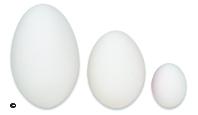 Ceramic nest Eggs