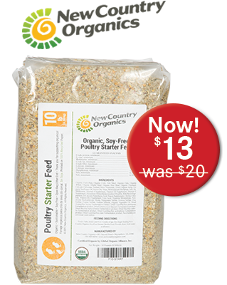 Country Organics Poultry Starter Feed
