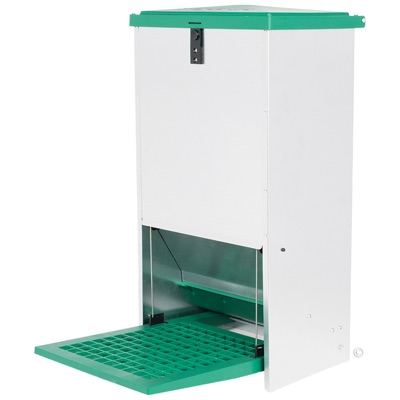 Feed-O-Matic Poultry Feeder
