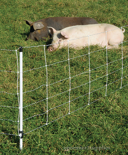 Pig QuikFence electric net fencing