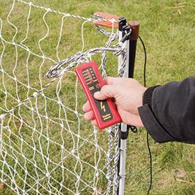 5-Light Wireless Fence Tester