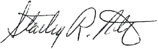 Stan Potratz signature