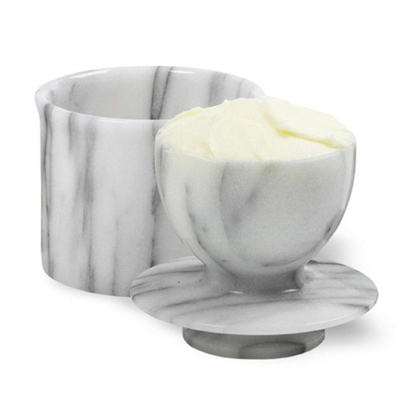 Marble Butter Crock : Marble butter keeper premier supplies