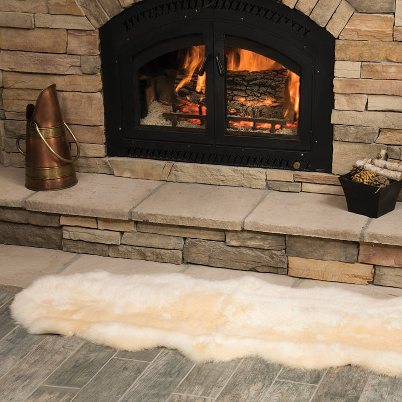 Double End-to-End Sheepskin Rugs