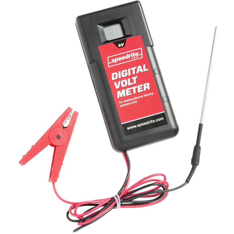 Digital Voltmeter Fence : Digital voltmeter premier supplies