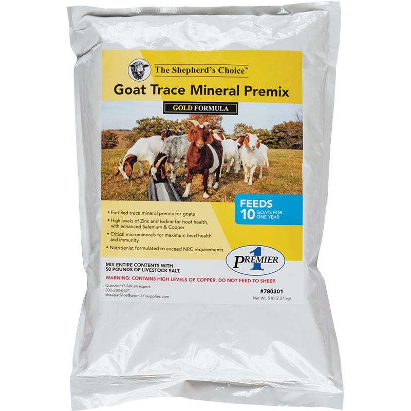 Goat Trace Mineral Premix - Premier1Supplies