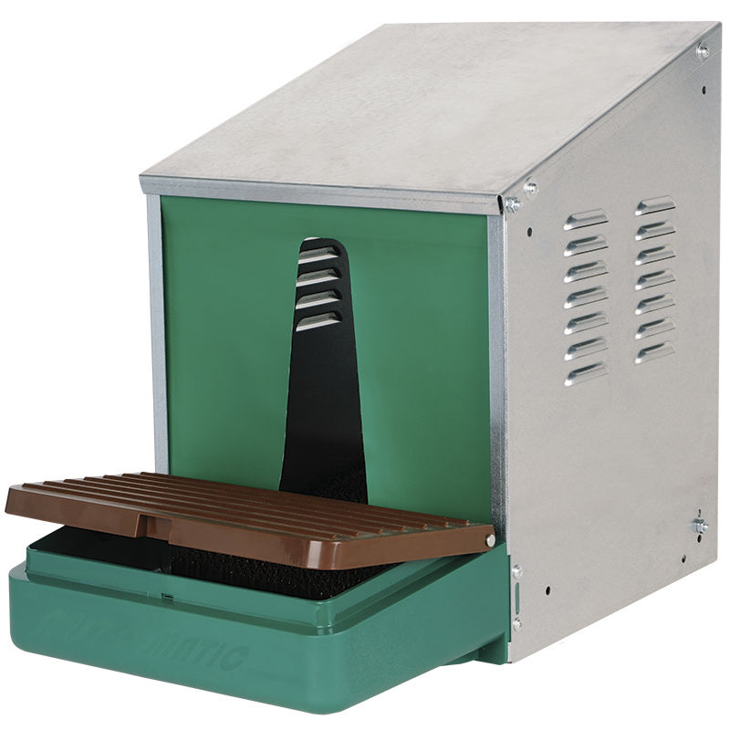 Nest-O-Matic Galvanized Nest Box (with Roll Out Tray) - Premier1Supplies