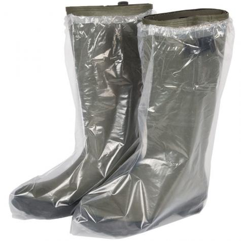Rubber boots not included.