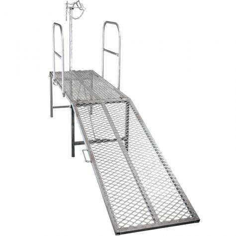 Trimming Stand with Head Piece, Optional Side Rails & Optional Ramp