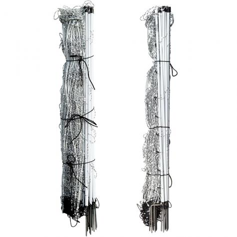 (left) Single Spike and (right) Double Spike posts.