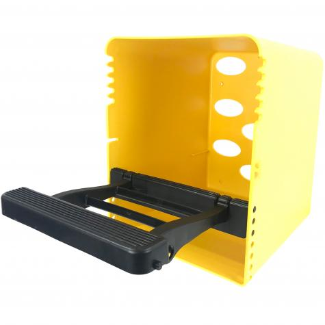 ChickBox (with black perch only), yellow