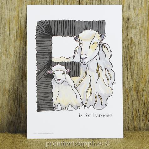 """Letter """"F"""" is for Faroese"""