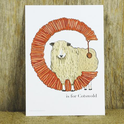 """Letter """"C"""" is for Cotswold"""