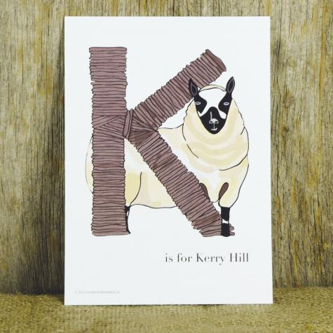 "Letter ""K"" is for Kerry Hill"
