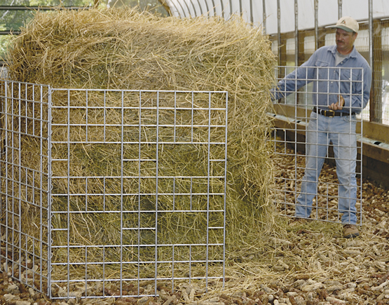 Horse Hay Ring Feeder Horse Hay Ring Lumber 2 Home And
