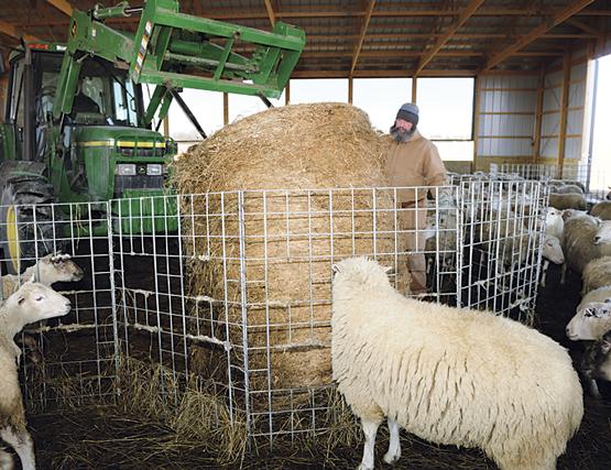 Installing Premier Big Bale Feeders